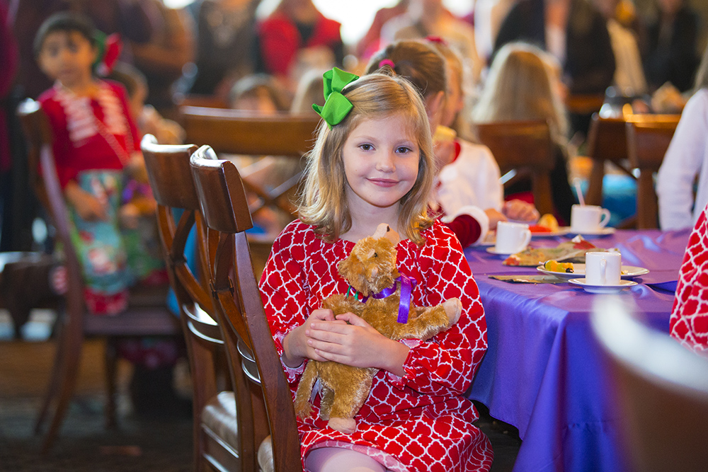 The 9th annual Teddy Bear Tea at the Billy Graham Library brought smiles to the faces of nearly 250 children and their parents as they celebrated Christ's birth early on Dec. 3. No matter what your age, you can celebrate Christmas at the Library, too, now through Dec. 23.